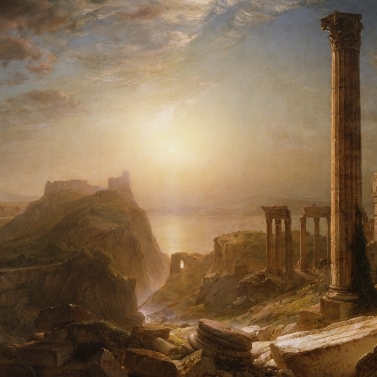 """Syria by the Sea,"" 1873, Frederic Church, oil on canvas. Detroit Institute of Arts."
