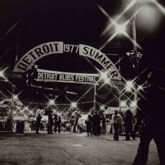 """First Annual Detroit Blues Festival, Detroit,"" 1977, Russ Marshall, American; dye-based ink jet print."