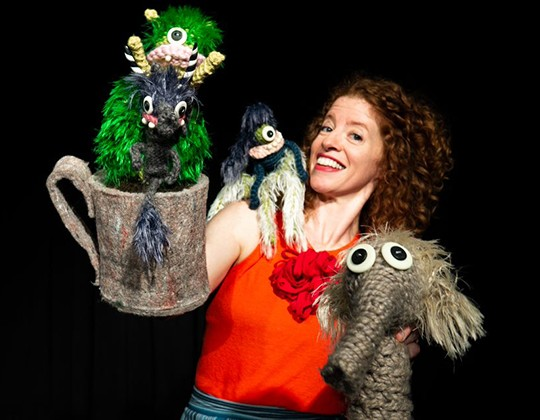 Puppet performance of Tiny Monsters