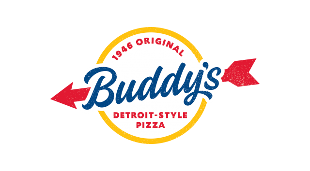 Logo for Buddy's pizza
