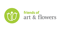 Logo for the DIA's Friends of Art and Flowers