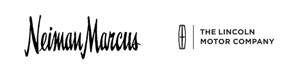 Logos for Neiman Marcus and the Lincoln Motor Company