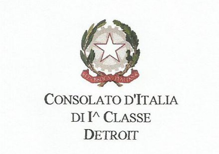 The Italian Consul in Detroit logo