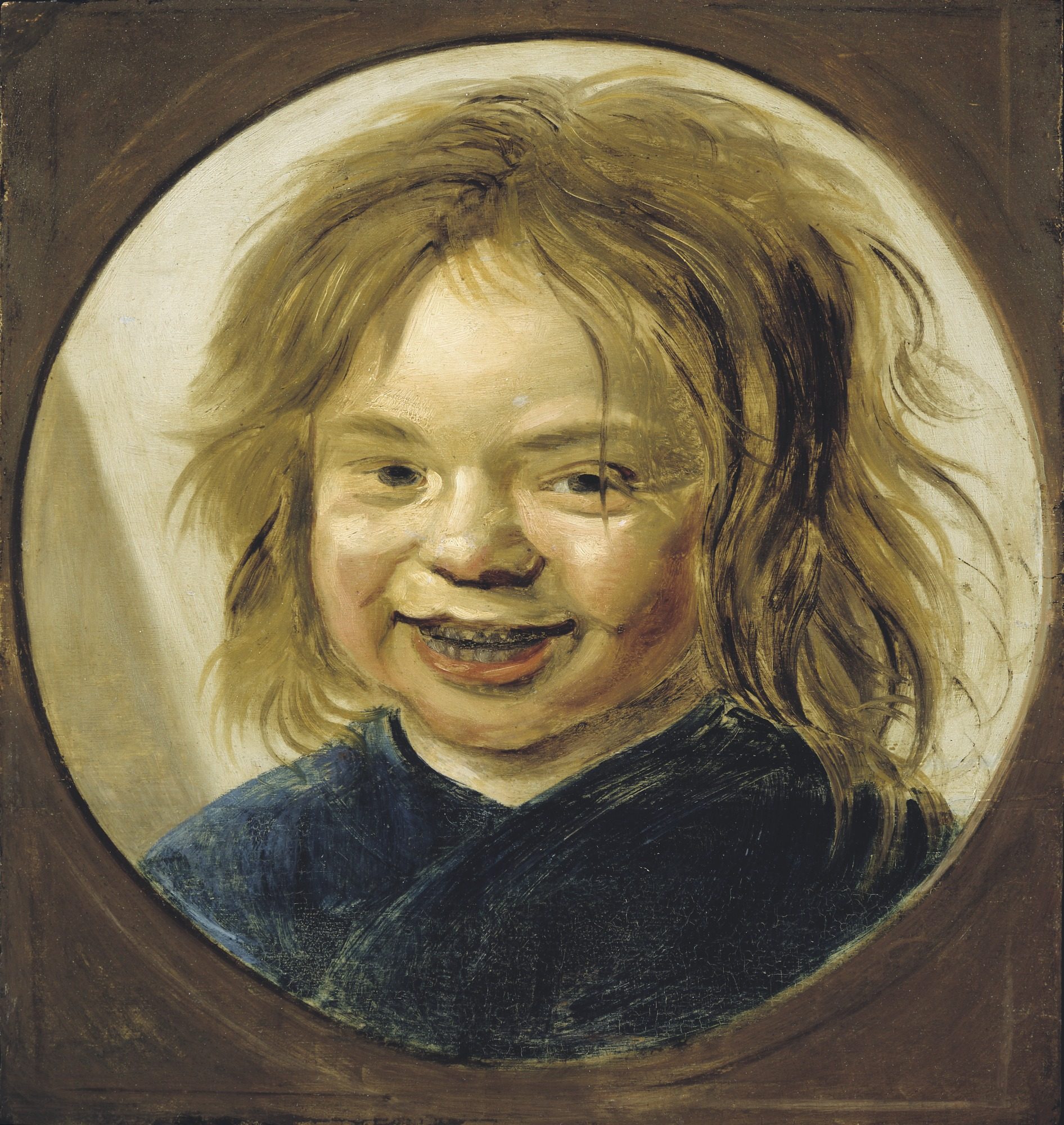 Frans Hals, Laughing Boy, 17th Century, Oil on oak panel. Detroit Institute of Arts.